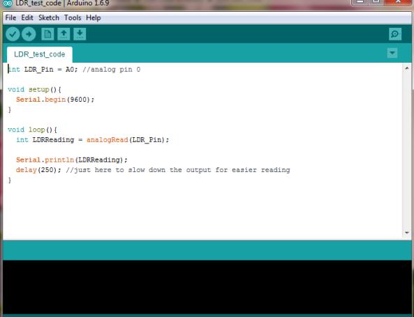 ldr code